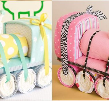 7 Ideas originales para el baby shower: decoración y tarta de pañales